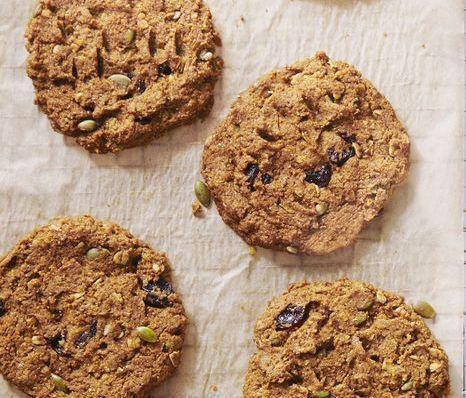 """<p>Did someone say cookies for breakfast? Yep, with these cherry- and pumpkin-packed treats, your morning staple just got a whole lot healthier (and tastier). Oats and whole wheat flour serve as a hearty base, while pumpkin pie spice and brown sugar offer tons of sweetness.</p><p><a href=""""https://www.prevention.com/food-nutrition/recipes/a31004370/pumpkin-cherry-breakfast-cookies-recipe/"""" rel=""""nofollow noopener"""" target=""""_blank"""" data-ylk=""""slk:Get the recipe »"""" class=""""link rapid-noclick-resp""""><strong><em>Get the recipe »</em></strong></a></p>"""