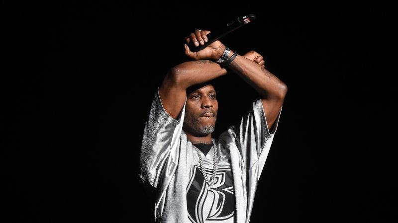 DMX performs onstage during the Bad Boy Family Reunion Tour on October 4, 2016.