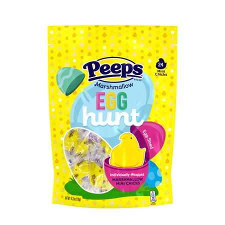 """<p><strong>Peeps</strong></p><p>walmart.com</p><p><strong>$5.48</strong></p><p><a href=""""https://go.redirectingat.com?id=74968X1596630&url=https%3A%2F%2Fwww.walmart.com%2Fip%2F182792280&sref=https%3A%2F%2Fwww.bestproducts.com%2Feats%2Ffood%2Fg1239%2Fbest-easter-candy-chocolate%2F"""" target=""""_blank"""">Shop Now</a></p><p>This package of 24 individually wrapped PEEPS Chicks is perfect for filling Easter eggs for your morning Easter egg hunt. When your basket is overflowing with these tasty marshmallow mini chicks, you know you've had a successful holiday. </p><p><strong>More:</strong> <a href=""""https://www.bestproducts.com/home/decor/g1116/easter-decor-ideas/"""" target=""""_blank"""">Hoppin' Cute Easter Decorations</a></p>"""
