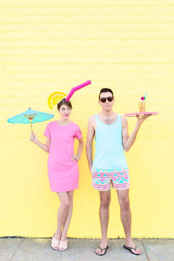 """<p>We're obsessed with this cute pool boy and tropical drink ensemble! Just because it's not summer doesn't mean you can't dress like it is.</p><p><strong>Get the tutorial at <a href=""""https://studiodiy.com/2016/09/23/diy-tropical-drink-pool-boy-couples-costume/"""" rel=""""nofollow noopener"""" target=""""_blank"""" data-ylk=""""slk:Studio DIY"""" class=""""link rapid-noclick-resp"""">Studio DIY</a>.</strong></p><p><a class=""""link rapid-noclick-resp"""" href=""""https://www.amazon.com/Cocktail-Parasol-Drink-Umbrellas-Tropical/dp/B000H2XXAA?tag=syn-yahoo-20&ascsubtag=%5Bartid%7C10050.g.4616%5Bsrc%7Cyahoo-us"""" rel=""""nofollow noopener"""" target=""""_blank"""" data-ylk=""""slk:SHOP COCKTAIL PARASOLS"""">SHOP COCKTAIL PARASOLS</a></p>"""