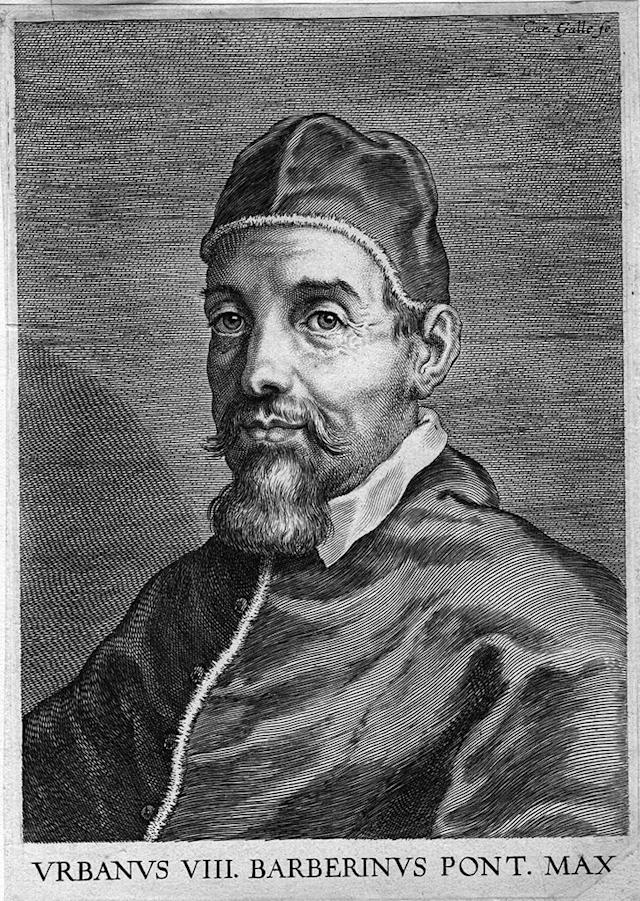 Circa 1620, Pope Maffeo Barberini VIII (1568 - 1644). (Photo by Hulton Archive/Getty Images)