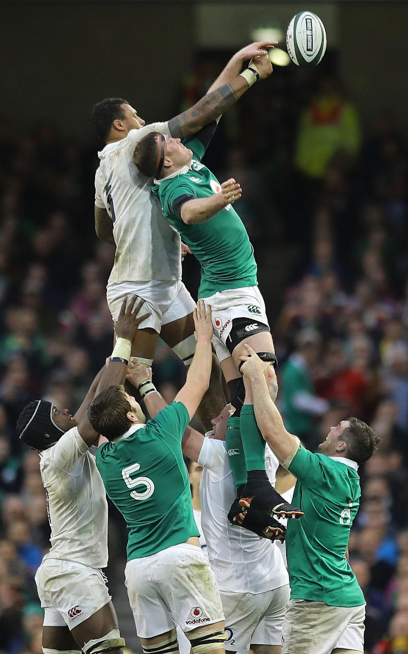 Donnacha Ryan - Credit: PA