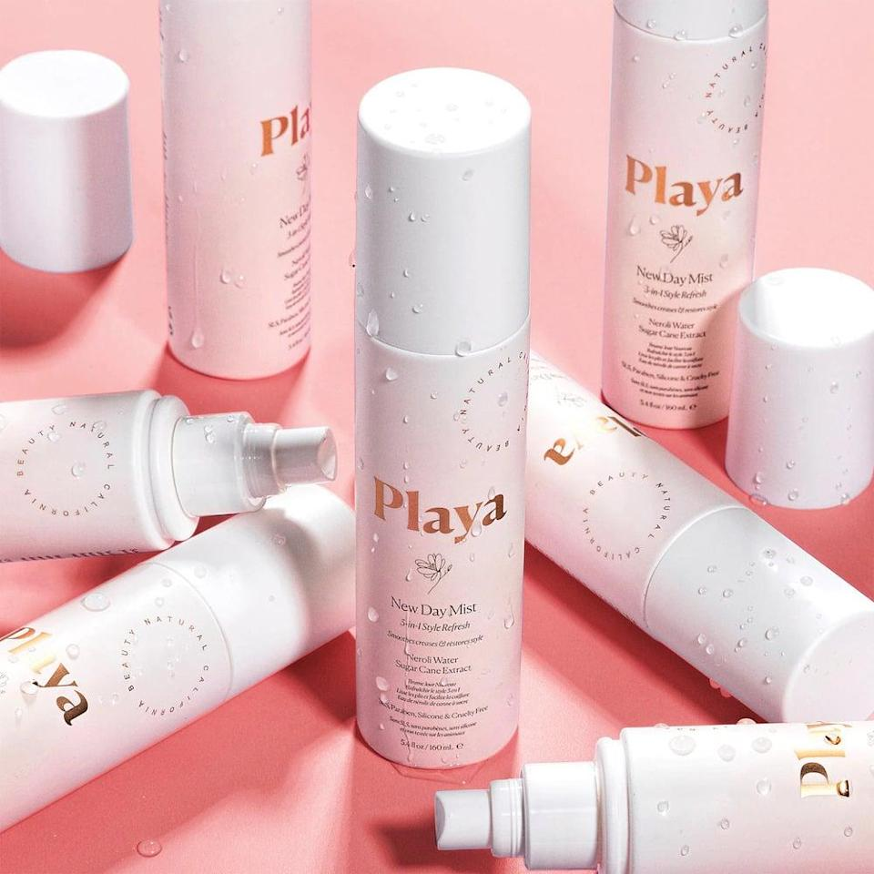 <p>Give your hair a quick refresh without having to wash your hair again with the <span>Playa New Day Mist 3-in-1 Styler Refresh</span> ($14, originally $24). Not only is it a leave-in treatment, it can help you create and refresh your second and third day hair. </p>