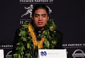 Manti Te'o's 'Catfish' Story: How the Media Bought It Hook, Line and Sinker