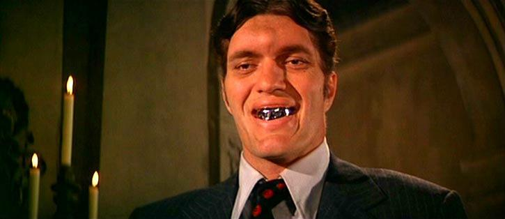 "Worst: Jaws (""The Spy Who Loved Me,"" ""Moonraker"") — This hulking henchman-for-hire exemplified Roger Moore's campier Bond era. First seen as an assassin for anarchist villain Karl Stromberg in ""The Spy Who Loved Me"", the razor-toothed Jaws survives (by biting a shark to death) to fight Bond another day in ""Moonraker."" Again employed as a henchman (this time to space-based maniac Sir Hugo Drax), Jaws actually switches sides and ends up helping Bond save the planet. Come on, Jaws. You forgot rule number one of being a good Bond villain: Don't help 007!"