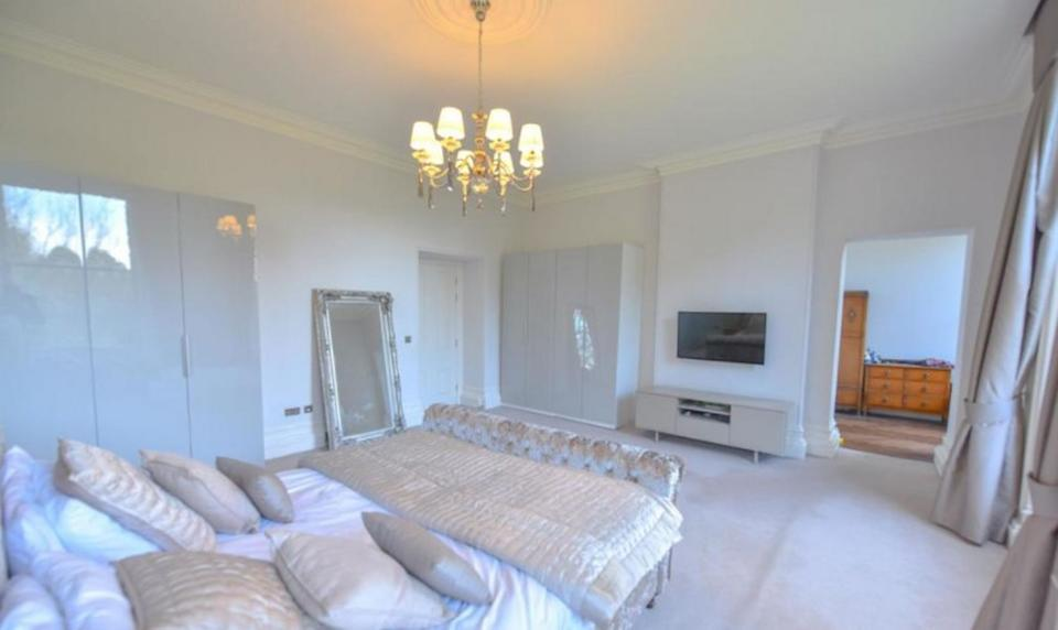 It features five bedrooms and five bathrooms. (Rightmove)