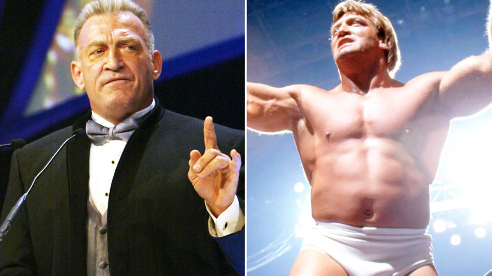 'Mr Wonderful' Paul Orndorff, pictured here in the WWE.