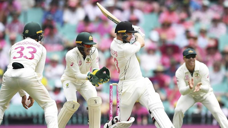 Debutant Glenn Phillips top scored for New Zealand with a half-century against Australia at the SCG