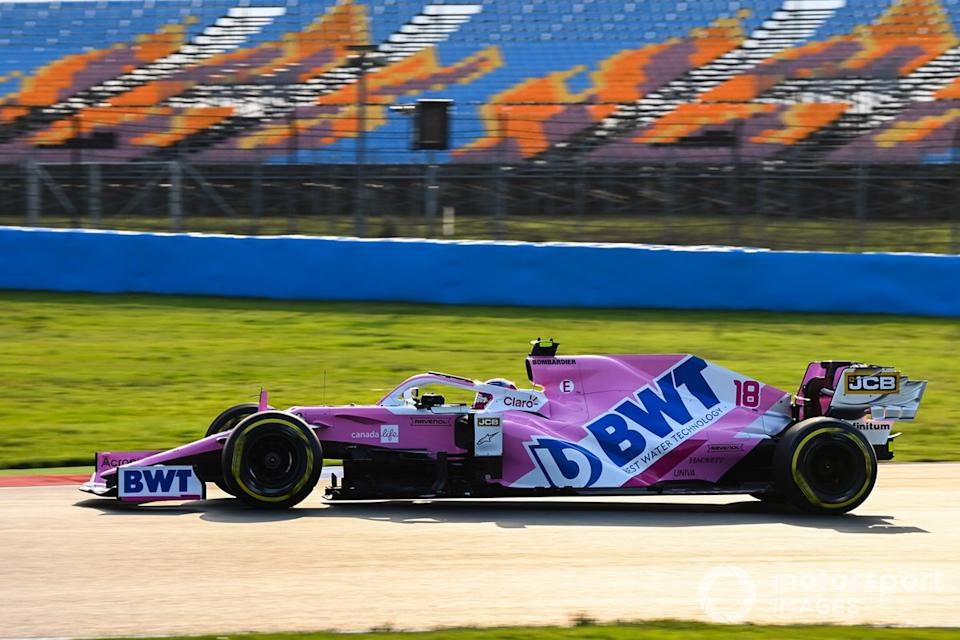 "Lance Stroll, Racing Point RP20<span class=""copyright"">Mark Sutton / Motorsport Images</span>"