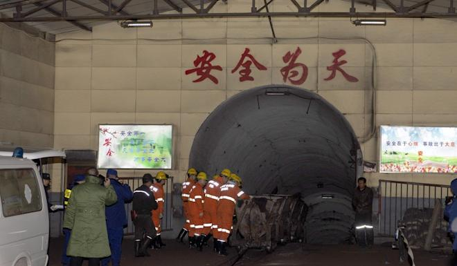 The rescue operation concluded early on Tuesday. Photo: Xinhua