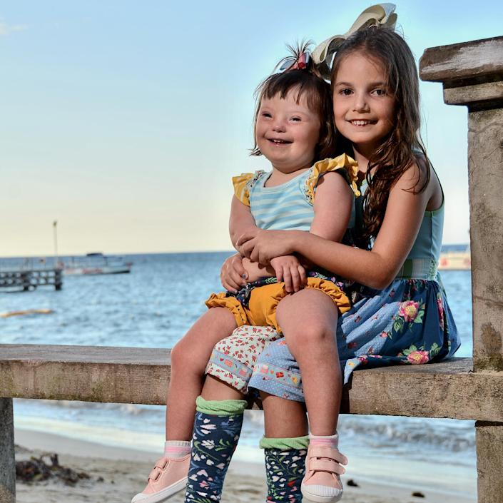 Shannon Striner's two daughters, Haley and Sienna (Courtesy of Shannon Striner)