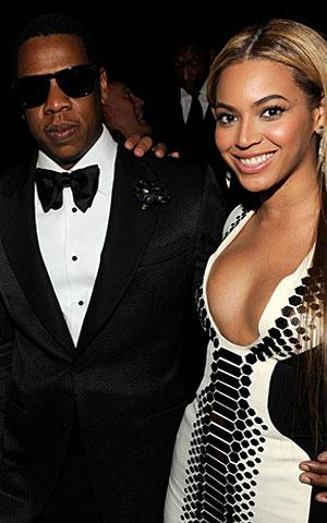 Beyonce and Jay-Z welcomed daughter Blue Ivy on Saturday. Kevin Mazur/WireImage
