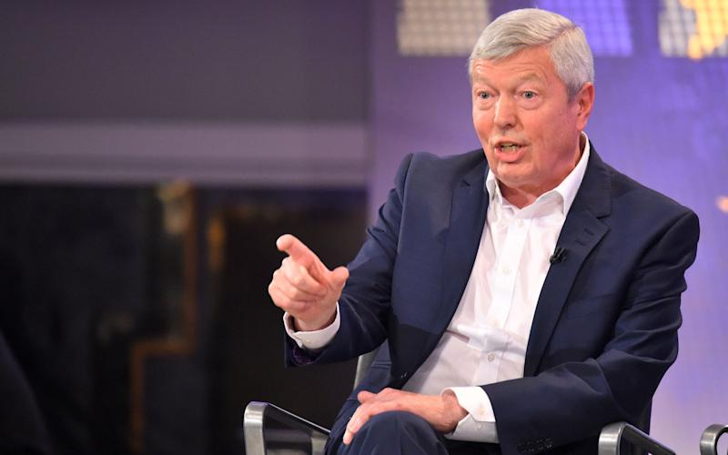 Alan Johnson announced he would step down - Credit: Dominic Lipinski/PA Wire