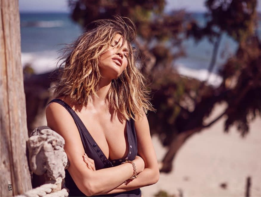 <em>Chrissy Teigen</em>: Known for keeping things real, Chrissy Teigen admitted that she did have lipo done on her armpits. (Image: Instagram)