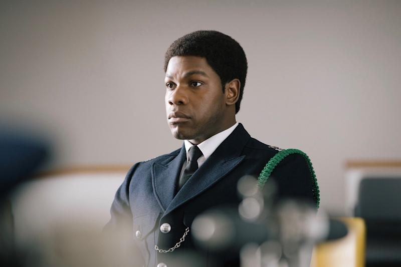Picture Shows: Leroy Logan (JOHN BOYEGA) - (C) McQueen Limited - Photographer: Will Robson-Scott