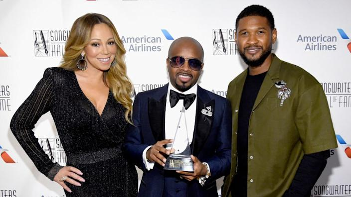 Jermaine Dupri was inducted to the Songwriters' Hall of Fame in 2018, accompanied by Mariah Carey and Usher