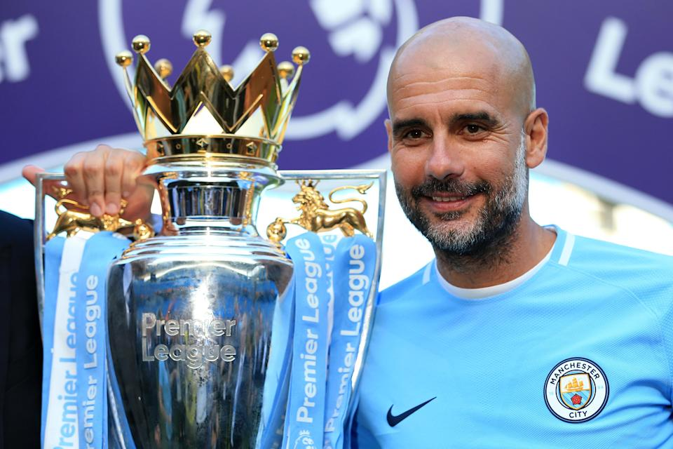 Will Pep Guardiola and Manchester City win the Premier League again? Our staff sure seems to think so. (Getty)