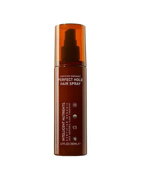 """<p><a href=""""http://www.intelligentnutrients.com/certified-organic-perfect-hold-hair-spray"""">Intelligent Nutrients Perfect Hold Hairspray</a> ($33). (Photo: Intelligent Nutrients)</p>"""