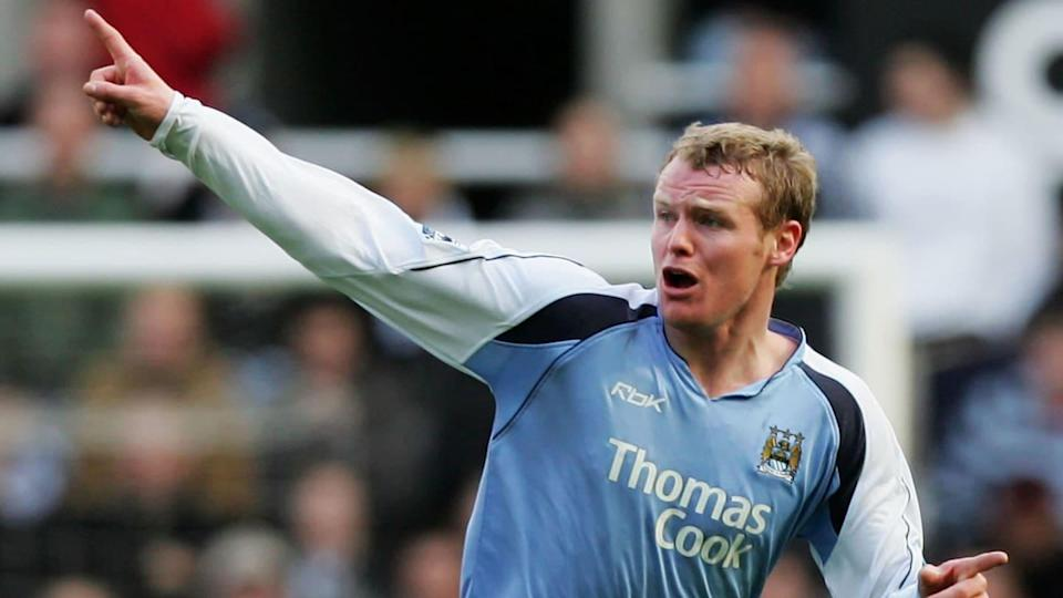 Michael Ball era o lateral do Manchester City. | Matthew Lewis/Getty Images