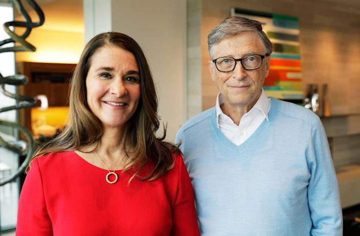 Bill and Melinda Gates, who met in 1987, announced that they would be ending their 27-year marriage on Monday.