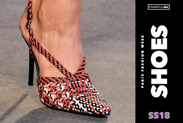 <p><i>Here are all of the most memorable shoes from Paris Fashion Week. (Photo: Getty, Art: Quinn Lemmers for Yahoo Lifestyle) </i></p>