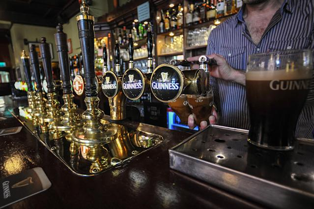 UK pubs can reopen from 4 July. Photo: Artur Widak/PA