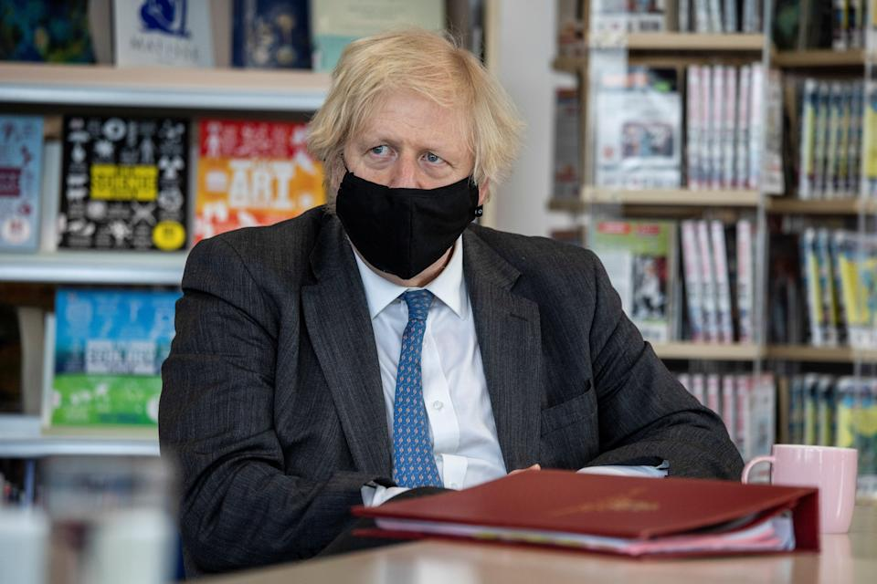 <p>Boris Johnson has had many detractors over his handling of the Covid-19 pandemic</p> (REUTERS)