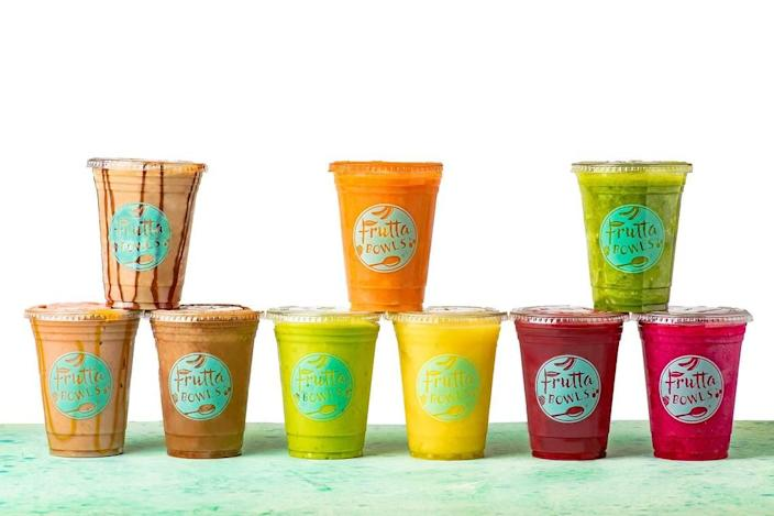 Frutta Bowls smoothies don't have any added sugar.