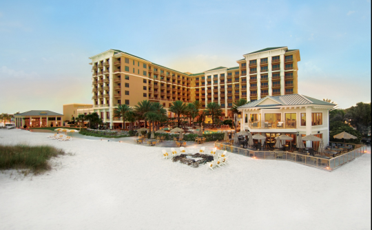 """<p>Clearwater is to families what South Beach is to millennials: a sun-soaked Florida getaway packed with attractions. Perched on a private, sugar-white stretch of beach, <a href=""""http://yhoo.it/1GxrFzj"""" rel=""""nofollow noopener"""" target=""""_blank"""" data-ylk=""""slk:Sandpearl"""" class=""""link rapid-noclick-resp"""">Sandpearl</a> is a luxurious resort with top-drawer amenities. It offers a range of naturalist-type adventures, such as an eco-tour through the Intracoastal Waterway, kayaking across local estuaries, and astronomy night at the local Museum of Science and Industry. The property also takes great pride in its LEED-certified status. (Photo: Courtesy of Sandpearl Resort)</p>"""
