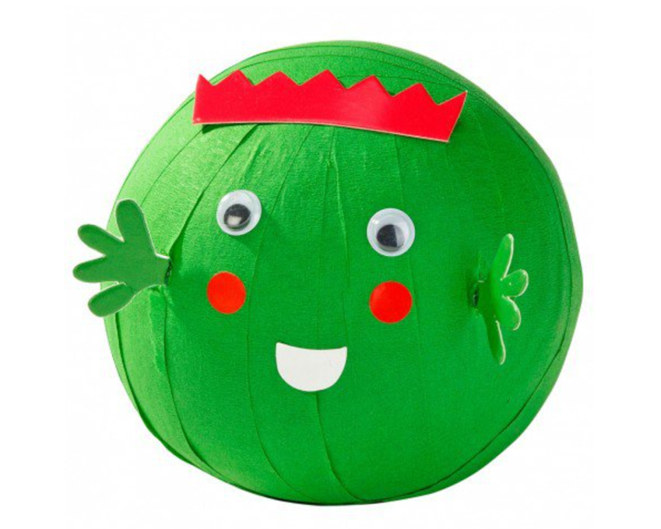 """<p>Peel back the crepe paper each day during the countdown to Christmas and and enjoy trinkets and trivia within each layer. Kids will love it.</p><p>£8 <a href=""""http://www.paperchase.co.uk/peel-the-sprout.html"""" rel=""""nofollow noopener"""" target=""""_blank"""" data-ylk=""""slk:Paperchase"""" class=""""link rapid-noclick-resp"""">Paperchase</a></p>"""