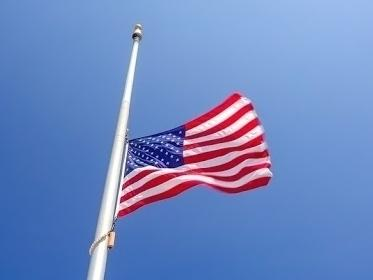 Here's some information about how to fly your flag in Naperville