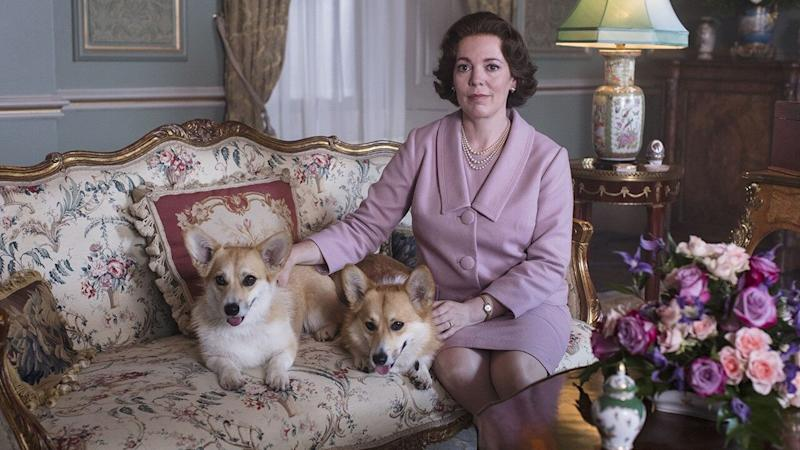 Olivia Colman Looks Suitably Regal as Queen Elizabeth II in 'The Crown'