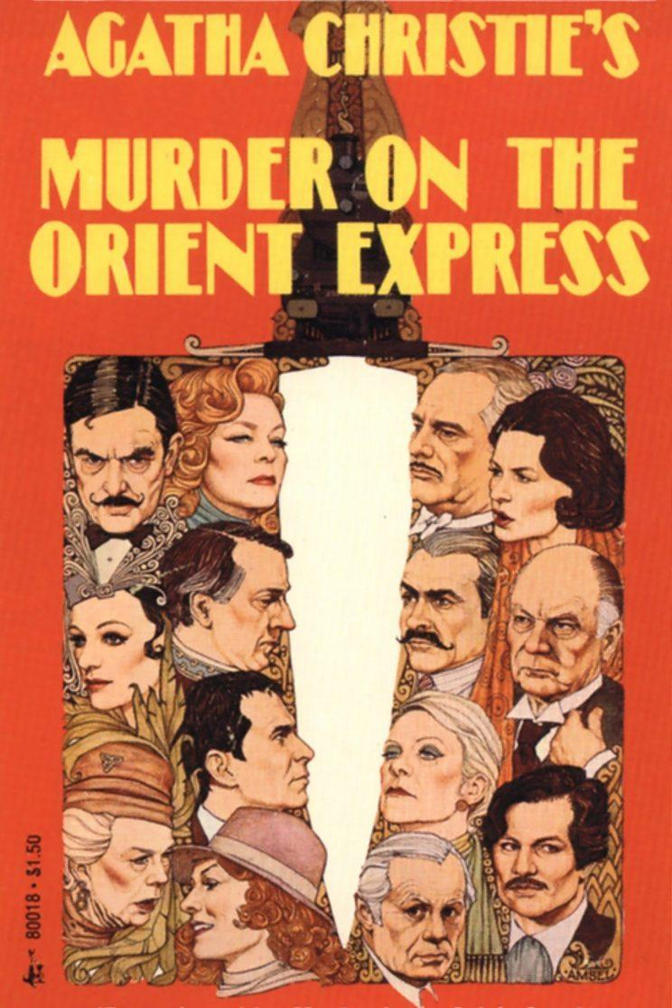 Assassinio sull'Orient Express poster film 1974