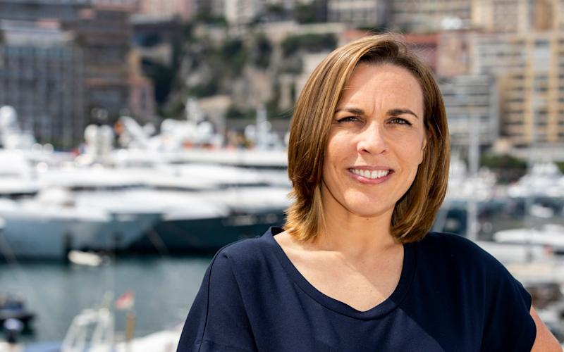 Williams deputy team principal Claire Williams in Monte Carlo - Getty Images Europe