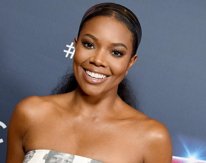 """Gabrielle Union showed that her """"natural locks appreciate the lock down"""" in a new Instagram video"""