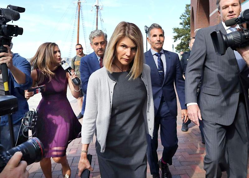 Lori Loughlin and Mossimo Giannulli | John Tlumacki/The Boston Globe/Getty
