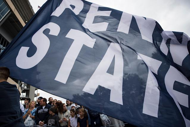 Penn State football was thrust into the middle of the college basketball fraud trial on Tuesday. (Getty Images)