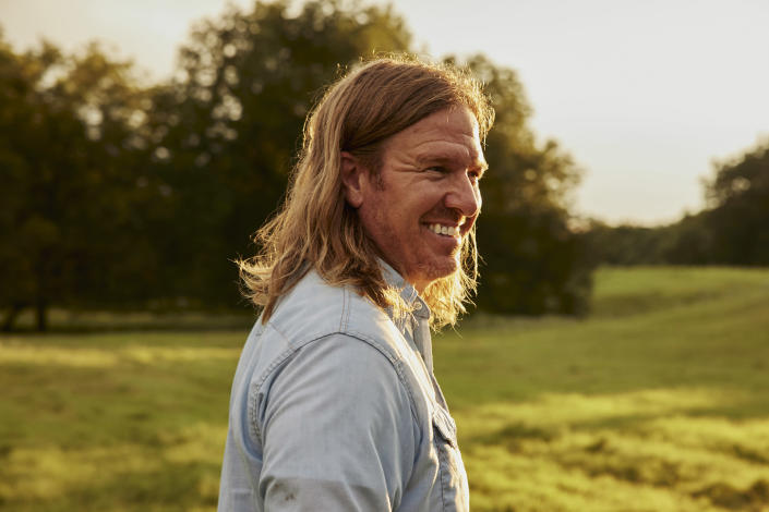 It's almost time to say goodbye to Chip Gaines' long hair. (River Jordan / Courtesy Chip Gaines)