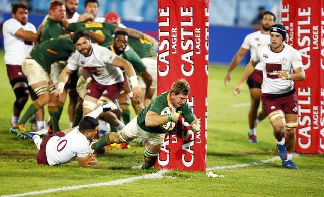South Africa were 40-9 winners against Georgia in the first Test