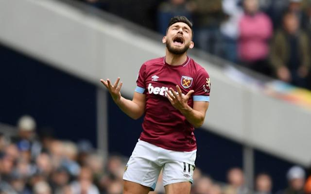 Robert Snodgrass served a one-game ban and fined for his outburst - Getty Images Europe