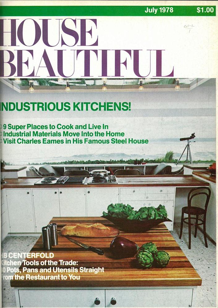 <p>If you thought butcher block countertops were a new phenomenon, check out this 1978 kitchen! <br></p>