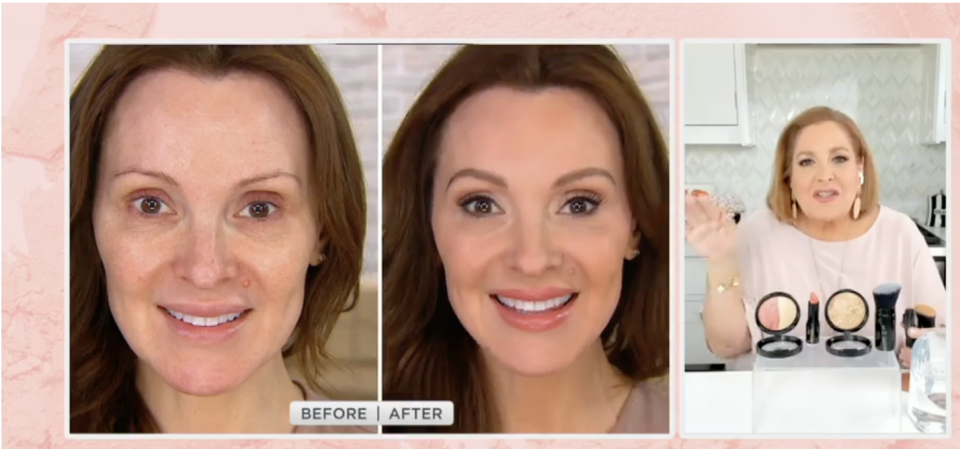 This holy-grail product helps balance skin tone with natural-looking coverage and a luminous finish, for a look that's 'baked not caked'. (Photo: QVC)