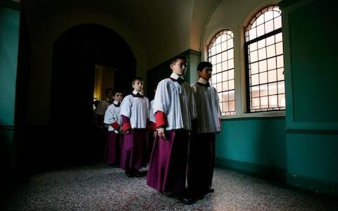 Westminster Cathedral Choir School is an academically-selective, Catholic preparatory school for around 230 boys from ages four to 13 - 20 of whom are boarding choristers, who join from Year 4.  - Credit: Philip Hollis/Philip Hollis