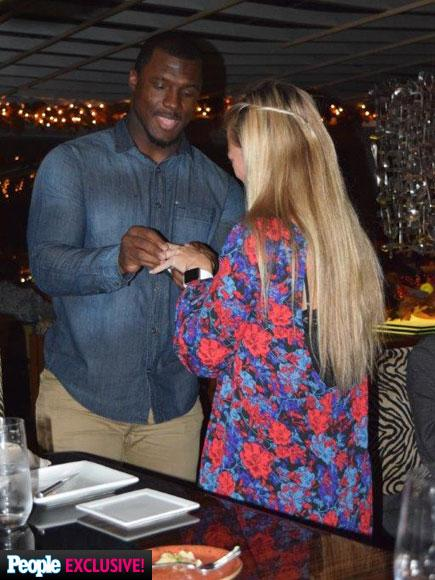 Buffalo Bills Linebacker and Fiancée Brittany Burns Were Planning Their Wedding Just Before Her 'Sudden' Death from Cancer| Death, Engagements, Marriage, Weddings, Cancer, Medical Conditions, Real People Stories
