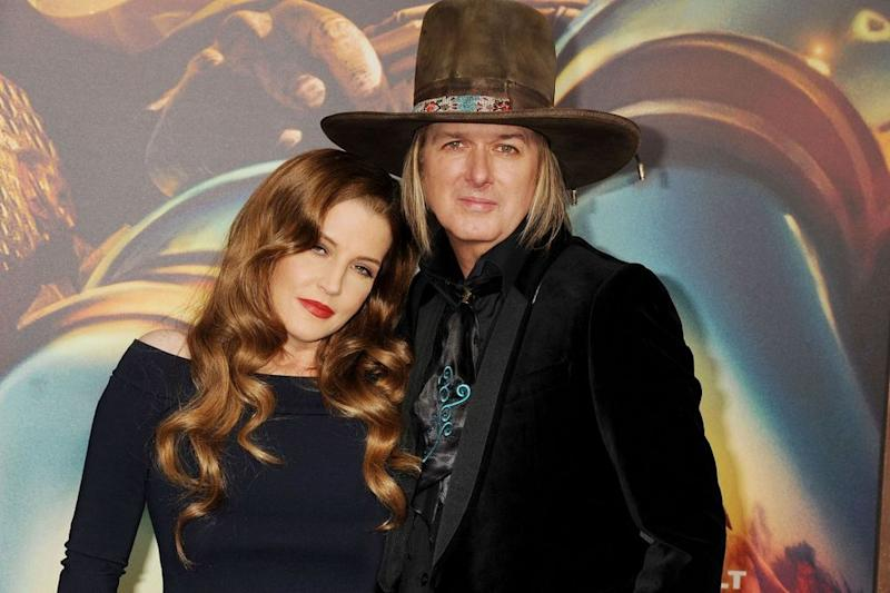 Lisa Marie Presley and Michael Lockwood in 2015