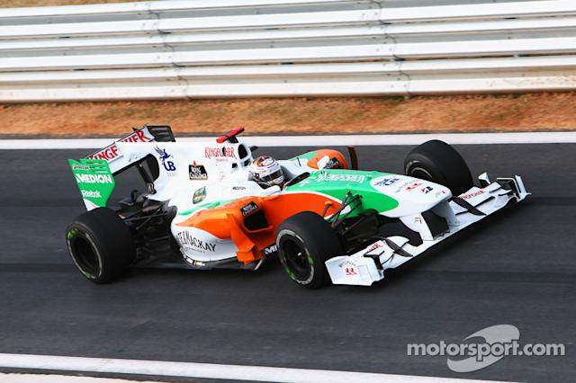 "Force India F1 VJM03 (2010) <span class=""copyright"">Sutton Motorsport Images</span>"