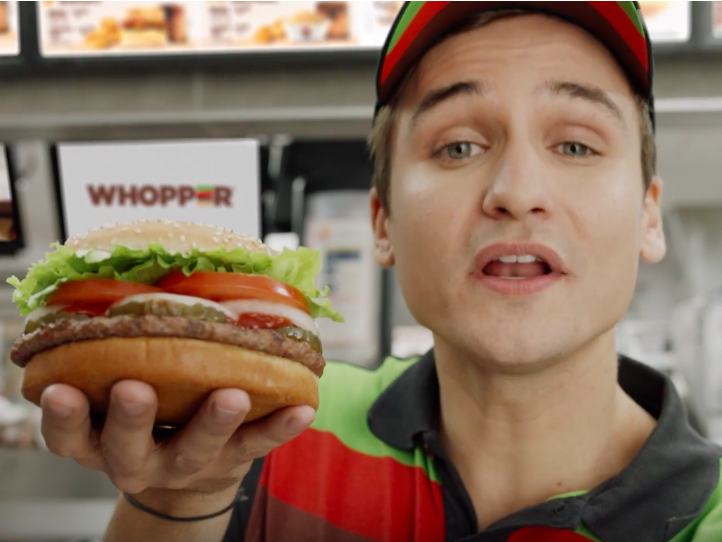Burger King's Whopper get negative Wikipedia edits in ad gag
