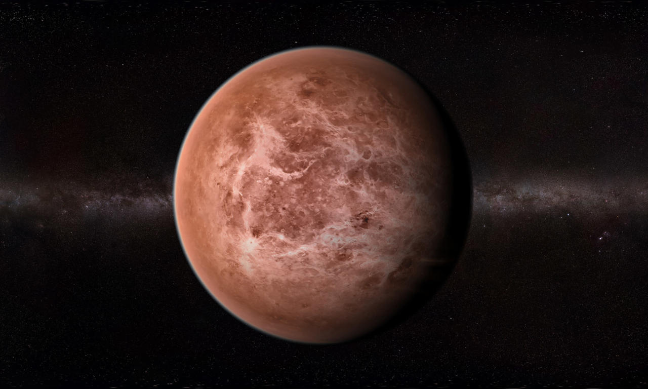 Scientists detect a gas that typically indicates the presence of biological life in the atmosphere of Venus