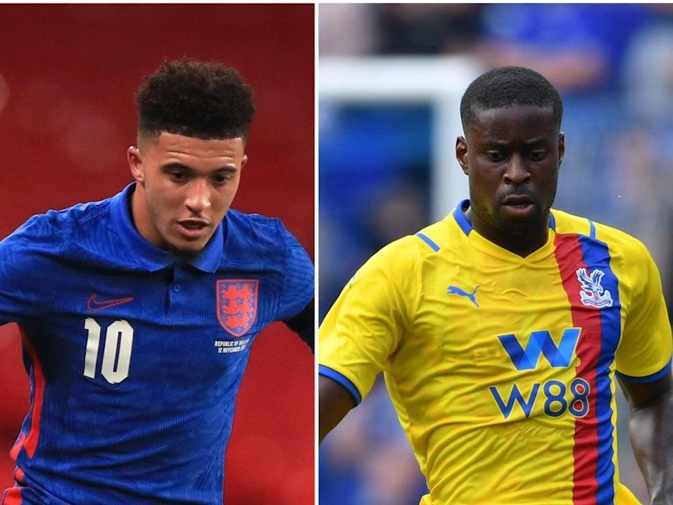 Jadon Sancho, Marc Guehi and Boubakary Soumare will look to make their mark in the Premier League this season (PA) (Getty)