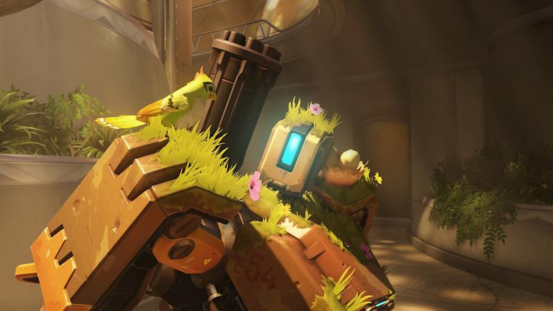 Take cover: 'Overwatch' hero Bastion is getting some big changes